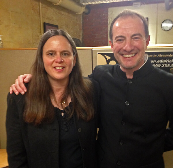 With Princeton Symphony Orchestra Music Director, Rossen Milanov